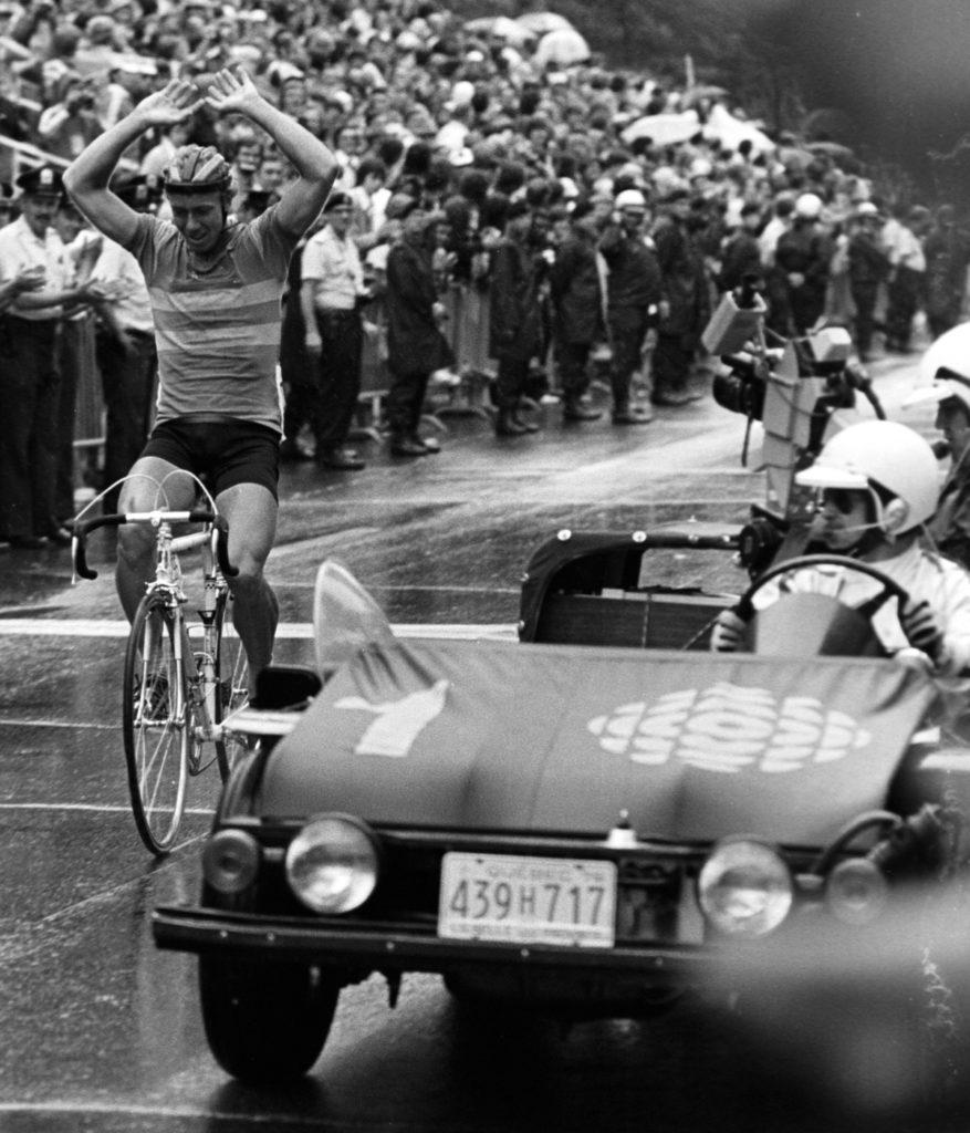 Bernt Harry Johansson 1976 Olympic Road Race GoldMedalist