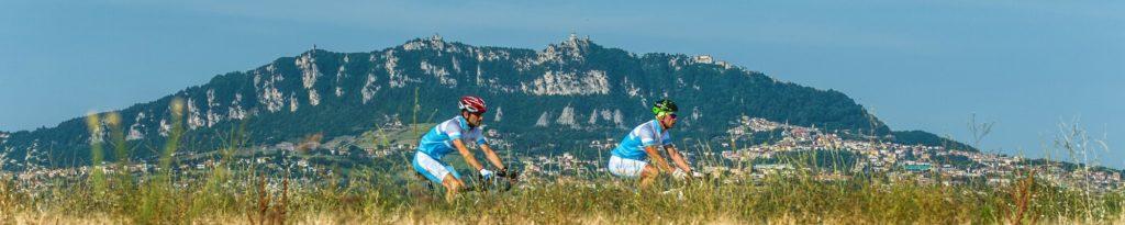 mountainbikers SanMarino