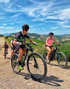 Mountainbikers Tour San marino