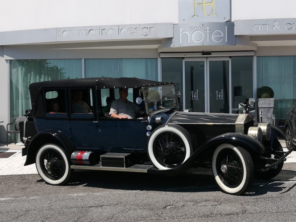 Rolls Royce Springfield Silver Ghost 1923