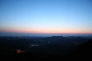 Alba sul monte