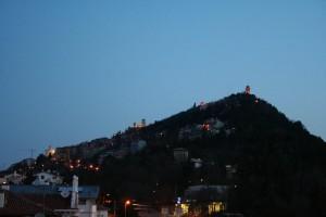 L'alba sul monte